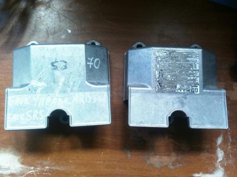 Блок управления AIR BAG  Opel Astra H / Zafira B 13251081 ,13227919 ,13188855