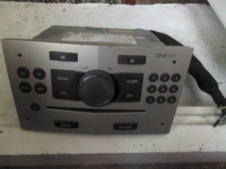 Магнитола CD 30 mp3 Opel Astra H