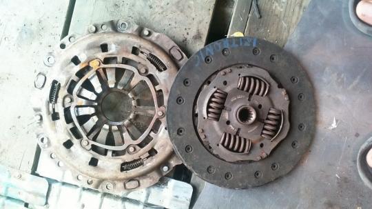 Диск сцепления Opel Astra H 9223223 , 55351839