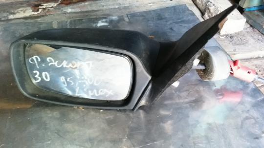 Зеркало левое механическое Ford Escort / Orion