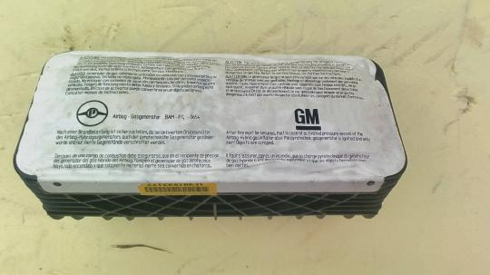 Подушка безопасности пассажирская (в торпедо) Opel Astra G / Zafira A 90561111 0199245