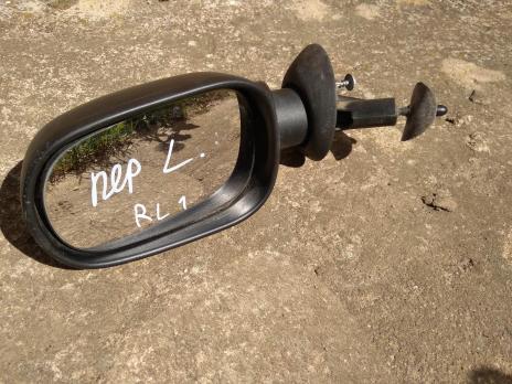 Зеркало левое механическое для Renault Logan 1 6001546989