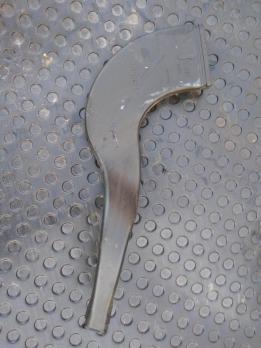 Воздуховод отопителя задний левый Renault Logan 8200599812